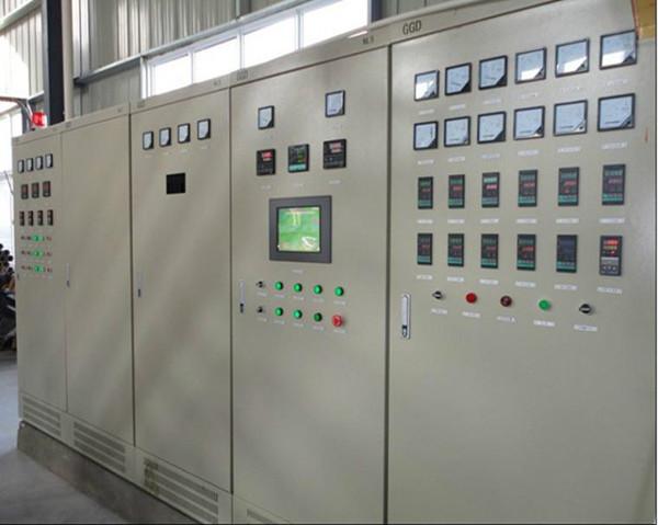 数显电机保护器在抛丸机电控柜上的应用案例