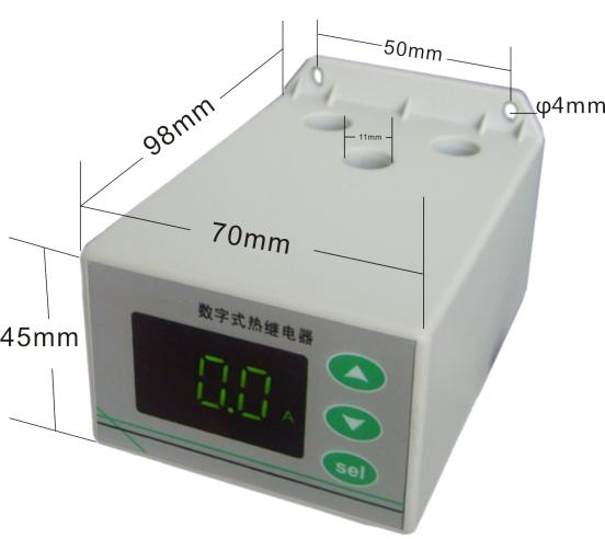 电动机保护器外形尺寸