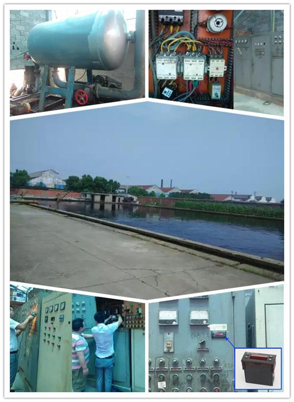 数显电动机保护器在污水处理回流泵上的应用