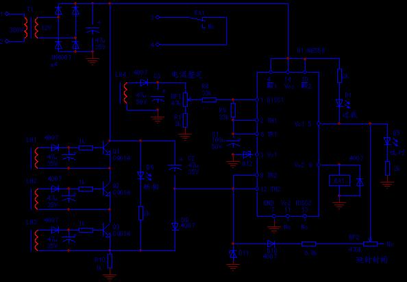 JD6型全电子式多功能电动机保护器